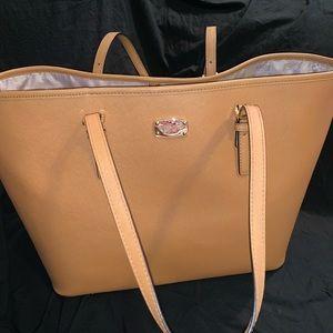 Large Luggage Brown Tote